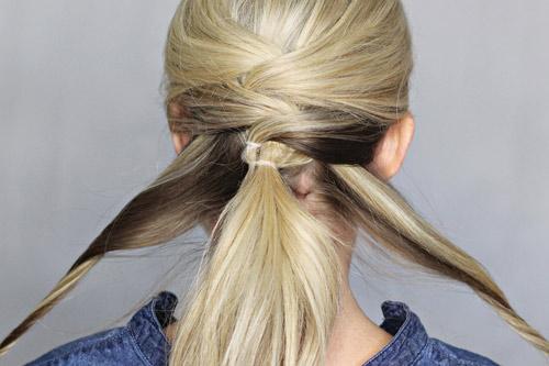 Biến tấu thú vị của tóc buộc đuôi ngựa - 6
