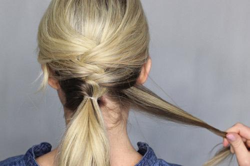 Biến tấu thú vị của tóc buộc đuôi ngựa - 7