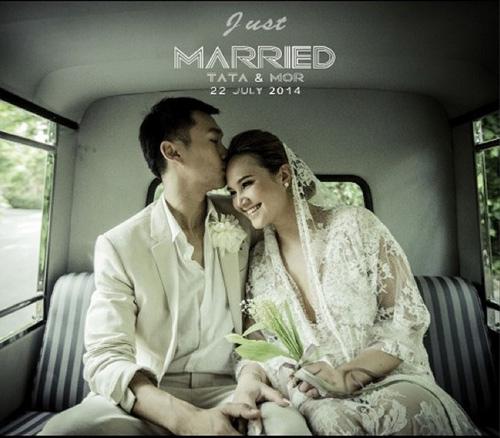 Diva Thái Lan Tata Young kết hôn bí mật - 1