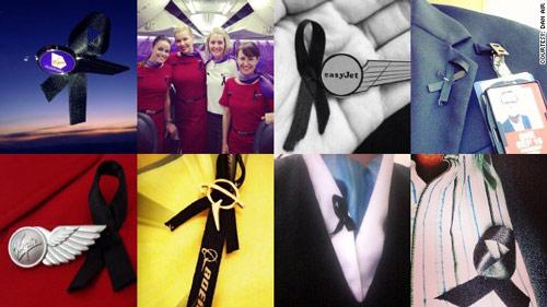Tiếp viên hàng không thế giới đồng loạt đeo ruy băng đen - 1