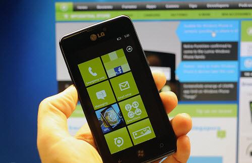 LG rục rịch với smartphone chạy Windows Phone - 1