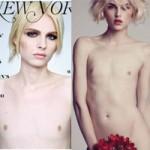 Thời trang - Siêu mẫu lưỡng tính xinh đẹp đã chuyển giới!