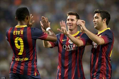 Messi, Eto'o tỏa sáng ngày chia tay Deco - 3