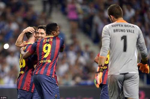 Messi, Eto'o tỏa sáng ngày chia tay Deco - 4