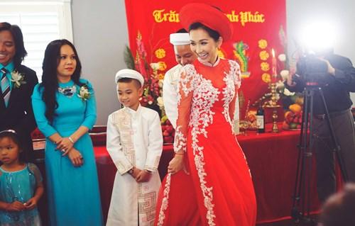 Kim Hiền hạnh phúc trong ngày cưới tại Mỹ - 1