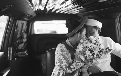 Kim Hiền hạnh phúc trong ngày cưới tại Mỹ - 13