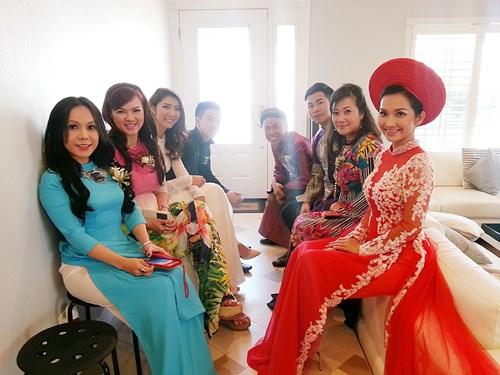 Kim Hiền hạnh phúc trong ngày cưới tại Mỹ - 7