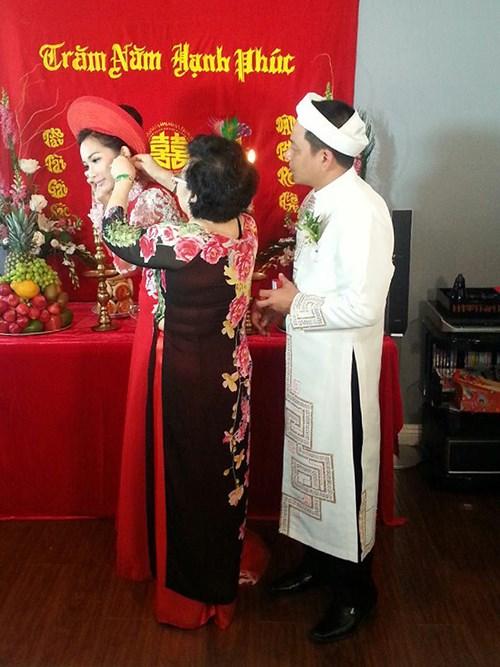 Kim Hiền hạnh phúc trong ngày cưới tại Mỹ - 11