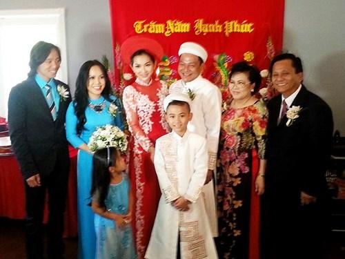 Kim Hiền hạnh phúc trong ngày cưới tại Mỹ - 8