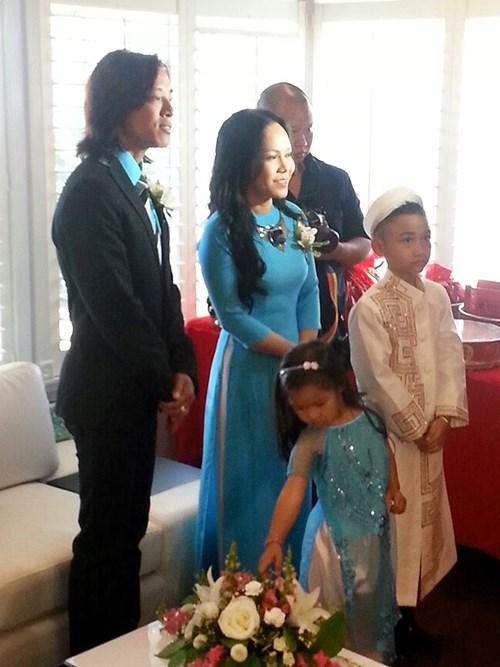Kim Hiền hạnh phúc trong ngày cưới tại Mỹ - 12