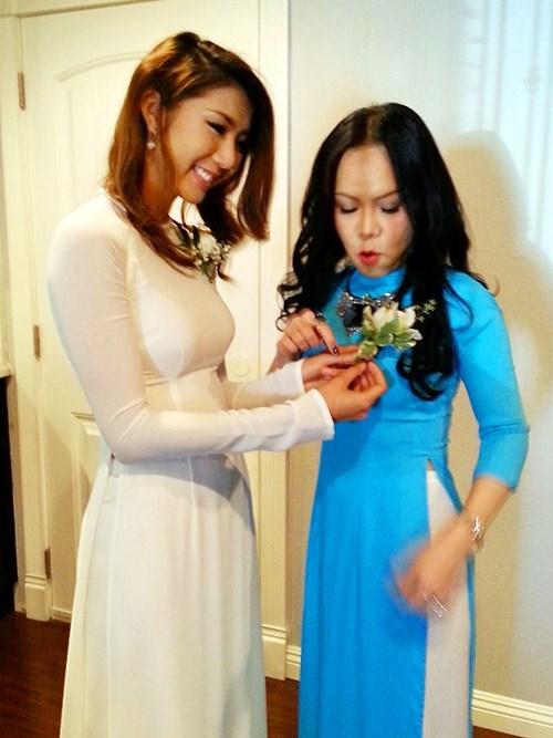 Kim Hiền hạnh phúc trong ngày cưới tại Mỹ - 6