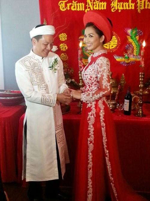 Kim Hiền hạnh phúc trong ngày cưới tại Mỹ - 10