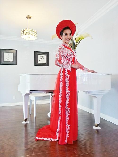 Kim Hiền hạnh phúc trong ngày cưới tại Mỹ - 4