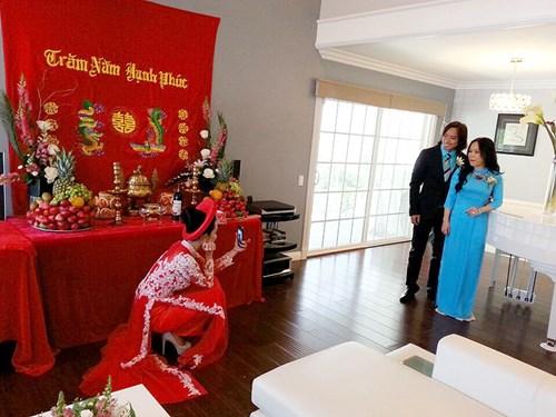 Kim Hiền hạnh phúc trong ngày cưới tại Mỹ - 3