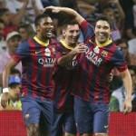 Bóng đá - Messi, Eto'o tỏa sáng ngày chia tay Deco