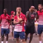 Bóng đá Ngoại hạng Anh - Henry ''lác mắt'' nhìn sao trẻ Arsenal chơi bóng rổ