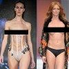 Thời trang mặc cũng như không trên sàn diễn quốc tế
