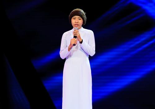 Cô bé quy y hát nhạc Trịnh gây xúc động Giọng hát Việt nhí - 1