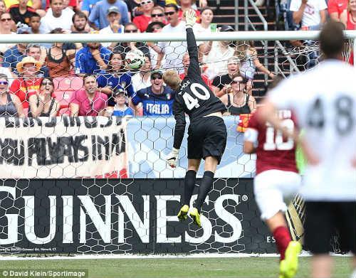 Siêu phẩm Rooney, Bale lép vế trước cú sút của Pjanic - 1