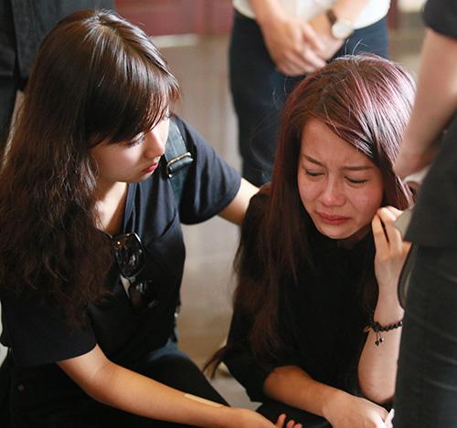 An Nguy khóc nức nở trước linh cữu Toàn Shinoda - 13