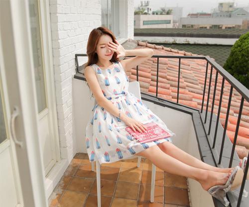 Những mẫu váy mùa hè mát mẻ và tuyệt đẹp - 7