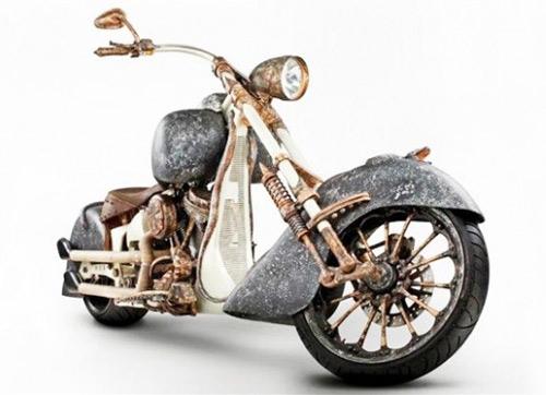 Chiếc xe máy đắt nhất thế giới làm từ hàng trăm kilogam vàng - 1