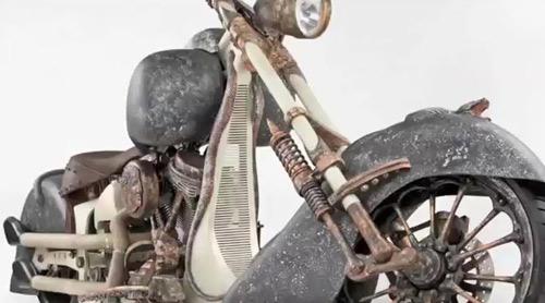 Chiếc xe máy đắt nhất thế giới làm từ hàng trăm kilogam vàng - 2
