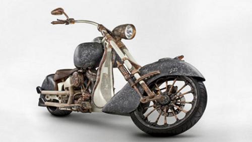 Chiếc xe máy đắt nhất thế giới làm từ hàng trăm kilogam vàng - 5