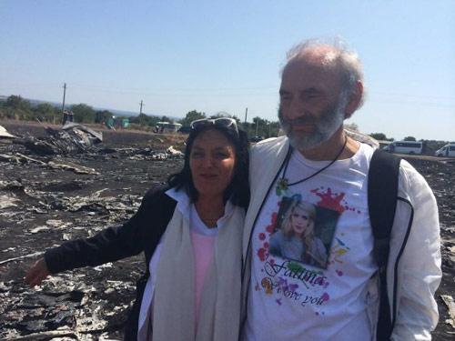 Vụ MH17: Vợ chồng già lặn lội tới Ukraine tìm con - 1