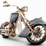 Ô tô - Xe máy - Chiếc xe máy đắt nhất thế giới làm từ hàng trăm kilogam vàng