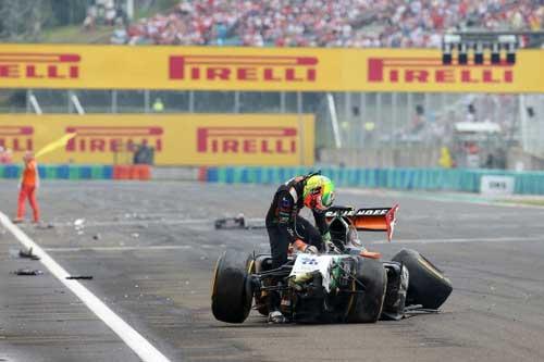 Mất lái, tay đua F1 đối mặt với tử thần - 5