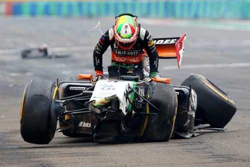 Mất lái, tay đua F1 đối mặt với tử thần - 6