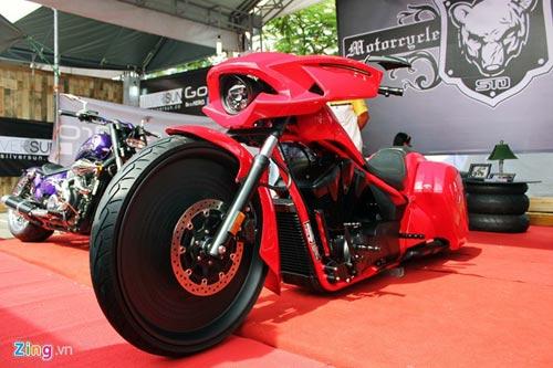 Xe độc tại lễ hội môtô lớn nhất Việt Nam - 1