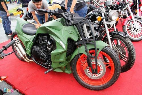Xe độc tại lễ hội môtô lớn nhất Việt Nam - 12