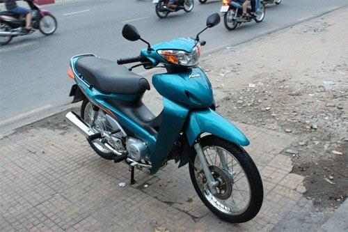 5 xe máy Honda vang bóng một thời ở Việt Nam - 3