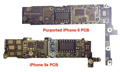 iPhone 6 để lộ bo mạch chủ có chip NFC - 1