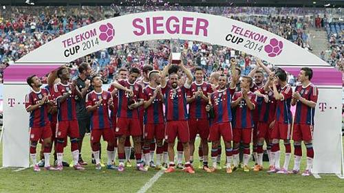 Lewandowski tỏa sáng, Bayern vô địch Telekom cup - 1