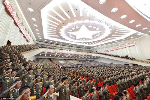 Triều Tiên bắn pháo hoa kỷ niệm ngày đình chiến - 1