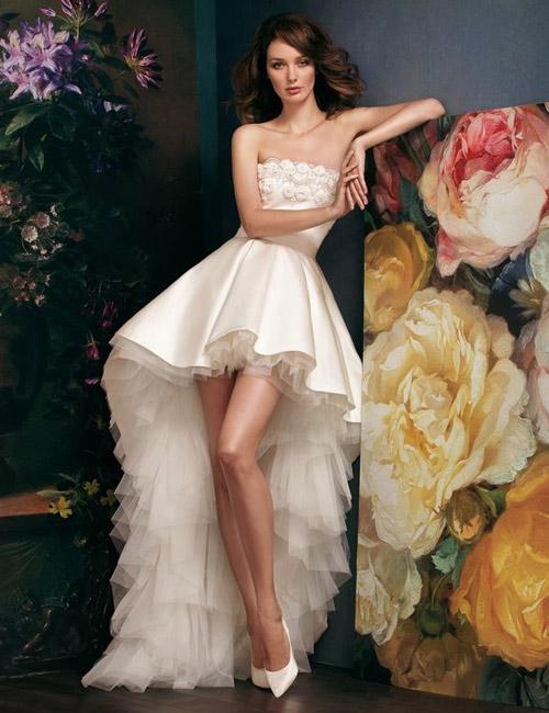 Đẹp xao lòng cùng váy cưới cổ điển - 1