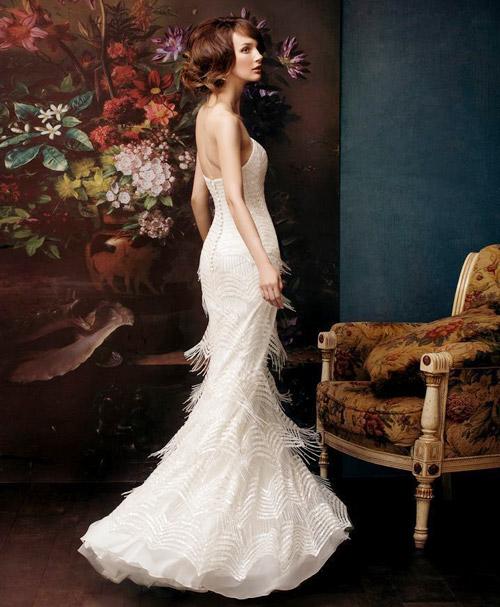 Đẹp xao lòng cùng váy cưới cổ điển - 2