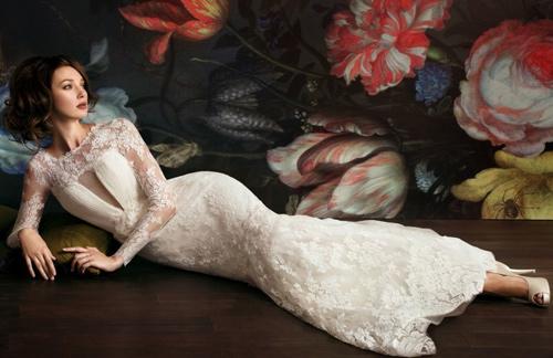Đẹp xao lòng cùng váy cưới cổ điển - 3