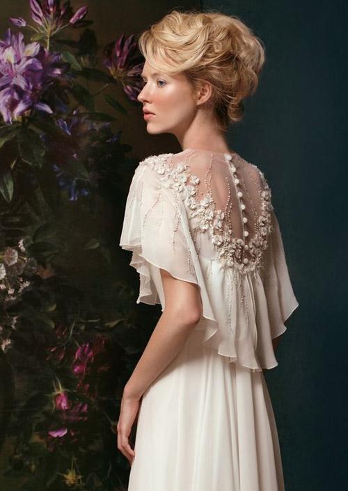 Đẹp xao lòng cùng váy cưới cổ điển - 4