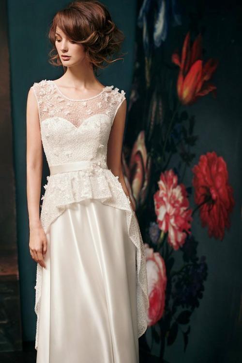Đẹp xao lòng cùng váy cưới cổ điển - 10