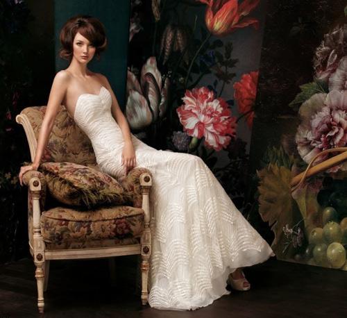 Đẹp xao lòng cùng váy cưới cổ điển - 12