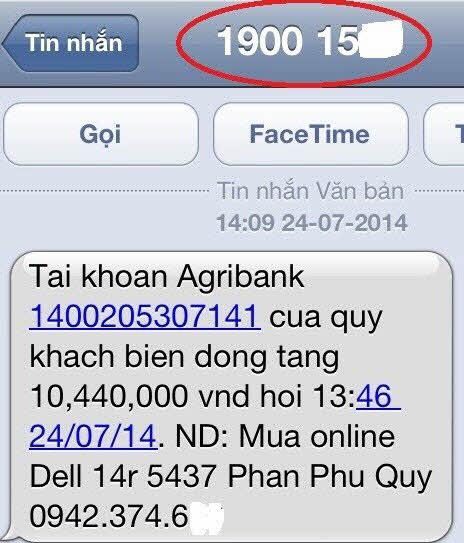"""""""Tuyệt chiêu"""" giả tin nhắn ngân hàng để lừa đảo - 2"""