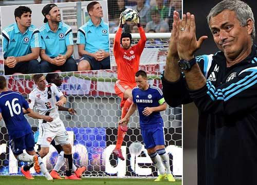 """Chelsea: Những """"cú đấm"""" của Mourinho sẵn sàng bùng nổ - 1"""
