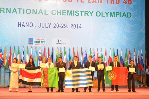 Việt Nam giành 2 huy chương Vàng Hoá học quốc tế - 2