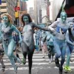 Phi thường - kỳ quặc - Bữa tiệc khỏa thân gây náo loạn đường phố New York