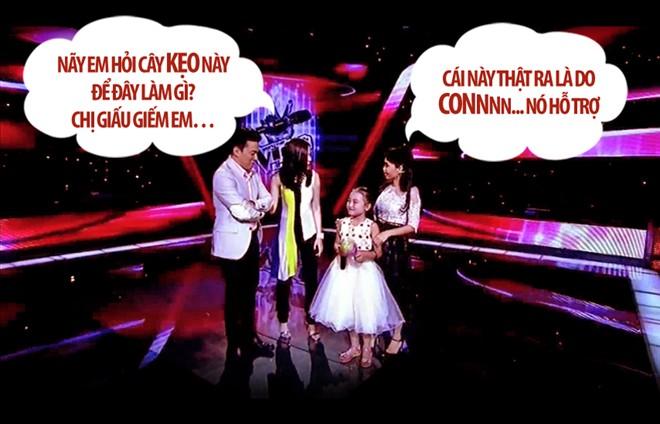 """Những màn """"chặt chém"""" hài hước tại The Voice Kids - 5"""