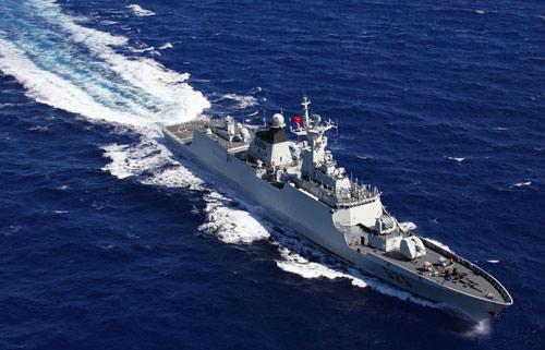 Tàu chiến TQ lần đầu diễn tập quét mìn ở Biển Đông - 2